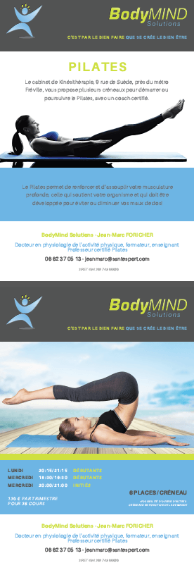 Flyer BodyMind Solutions Rennes